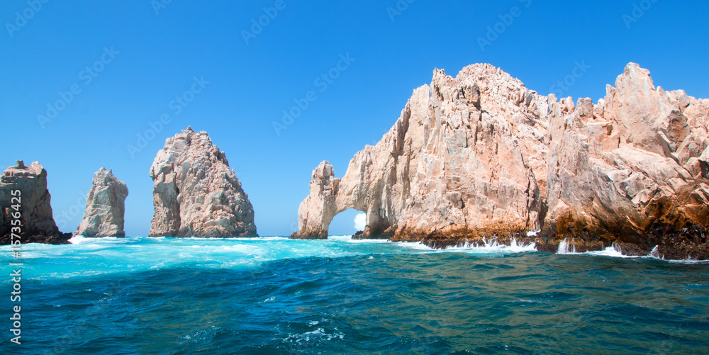 Fototapety, obrazy: El Arco (the Arch) at Lands End at Cabo San Lucas Baja Mexico BCS