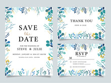 Wedding Invitation Card With  ...