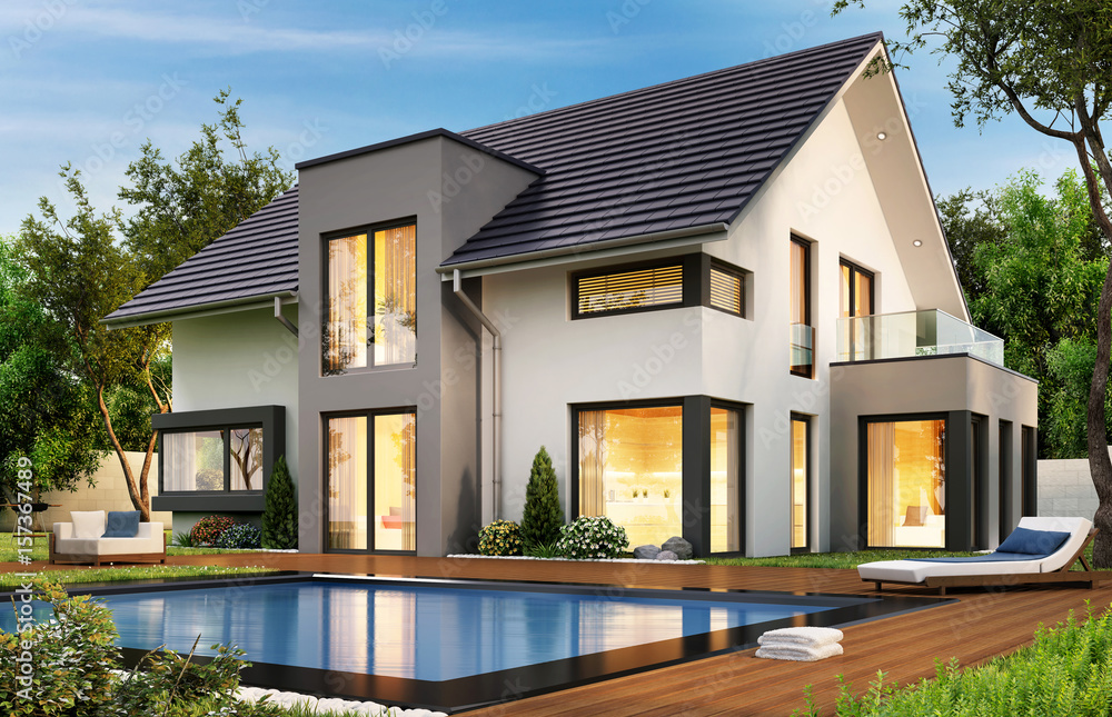 Fototapeta The dream house 79