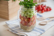 Quinoa Salat im Glas