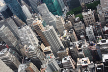 New York View From The Empire States Building