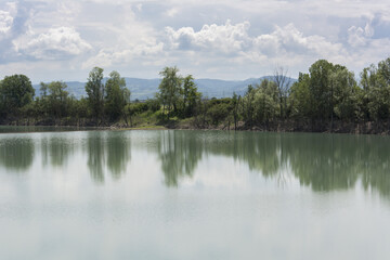 Fototapeta na wymiar Lago
