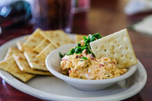 Homemade Pimento Cheese And Cr...