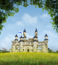 Romantic Fantasy Castle