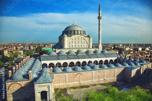 Fotografía Mihrimah Sultan Mosque in Istanbul