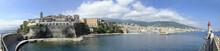 Vue Panoramique De La Ville De Bastia, Corse, France