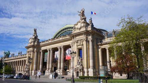 Fotografie, Obraz Photo of famous Grande Palais on a spring morning, Paris, France
