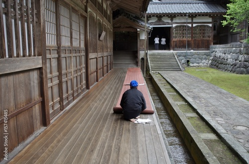 Fotografie, Obraz  日本の有名な観光地の寺の永平寺