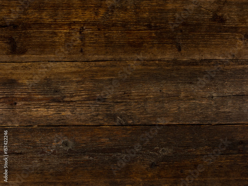 Dark Wood Texture Based Panel Wooden Boards Background