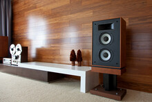 Vintage Audio System In Minima...