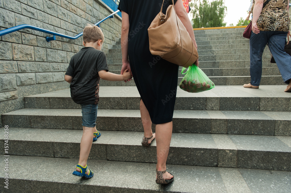 Obraz matka z dzieckiem fototapeta, plakat