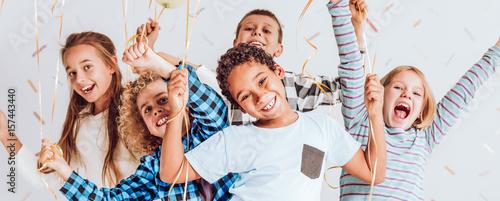 Fotografia  Children having fun