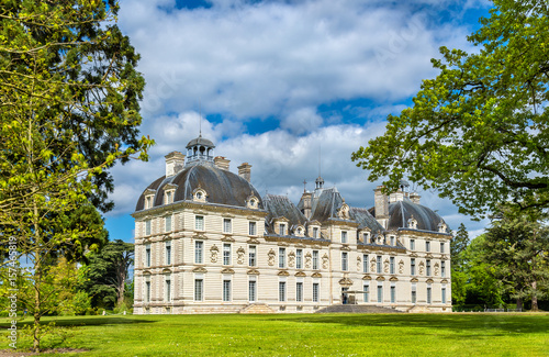 Foto  Chateau de Cheverny, one of the Loire Valley castles in France