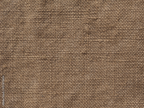 Poster Tissu brown fabric swatch sample