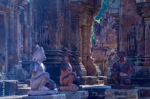 Fototapeta premium Banteay Srei ,Siem Reap,Combodia