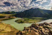 Russia, Altai Mountains, Sever...