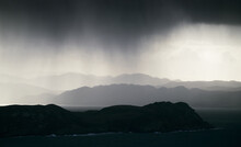 Heavy Rain Over The Mountains ...
