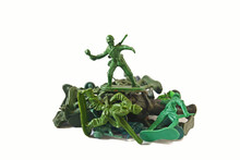Small Green Soldier Model Acti...