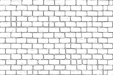 White Bricks Wall. Seamless Pa...