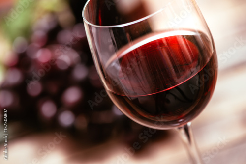 Staande foto Alcohol Red wine tasting
