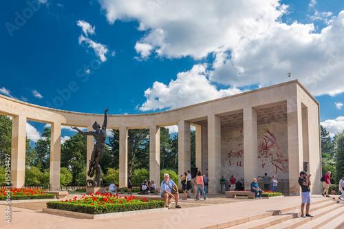 Cuadros en Lienzo  Normandy American Cemetery and Memorial