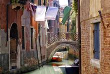 Clothes Lines, Venice, Veneto