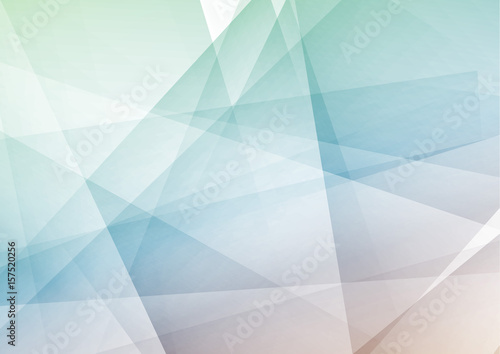 Naklejka dekoracyjna Trendy hipster geometrical polygonal abstract modern layout. Bright contemporary futuristic graphic transparent high-tech background concept.