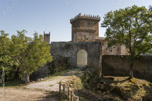 Castle of Pambre, Palas de Rei, Lugo, Galicia, Spain