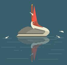 Pelican Catches Fish