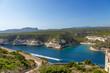 Island of Corsica, France. Picturesque sea bay in Bonifacio