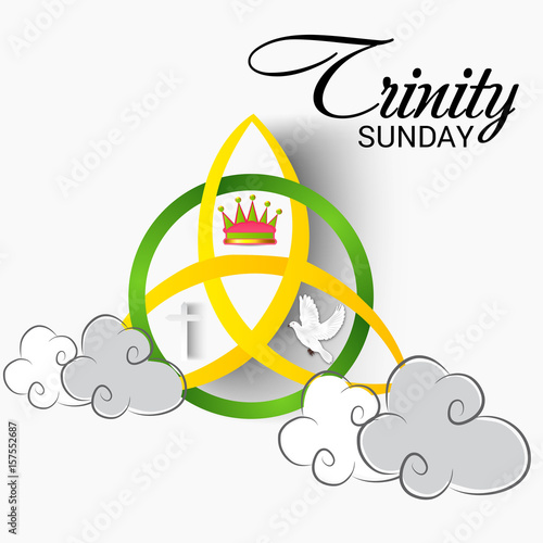 Trinity Sunday  - Buy this stock illustration and explore