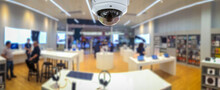 CCTV Security Panorama With Sh...