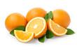 Leinwandbild Motiv Sweet orange fruit