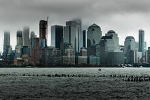 New York City Emerging From A ...