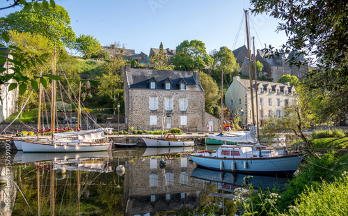 Vieux Port De La Roche Bernard Buy This Stock Photo And Explore
