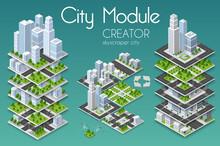 City Module Creator Isometric ...