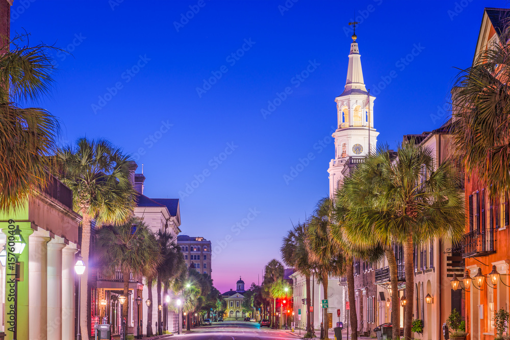 Fototapety, obrazy: Charleston, South Carolina, USA