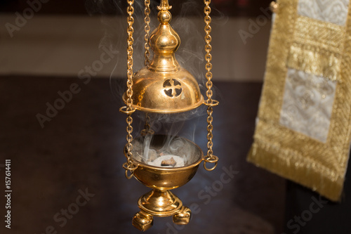 Fényképezés The Golden Church Censer