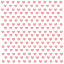 Seamless Pattern With Pink Hearts Abstract Background Vector Illustration