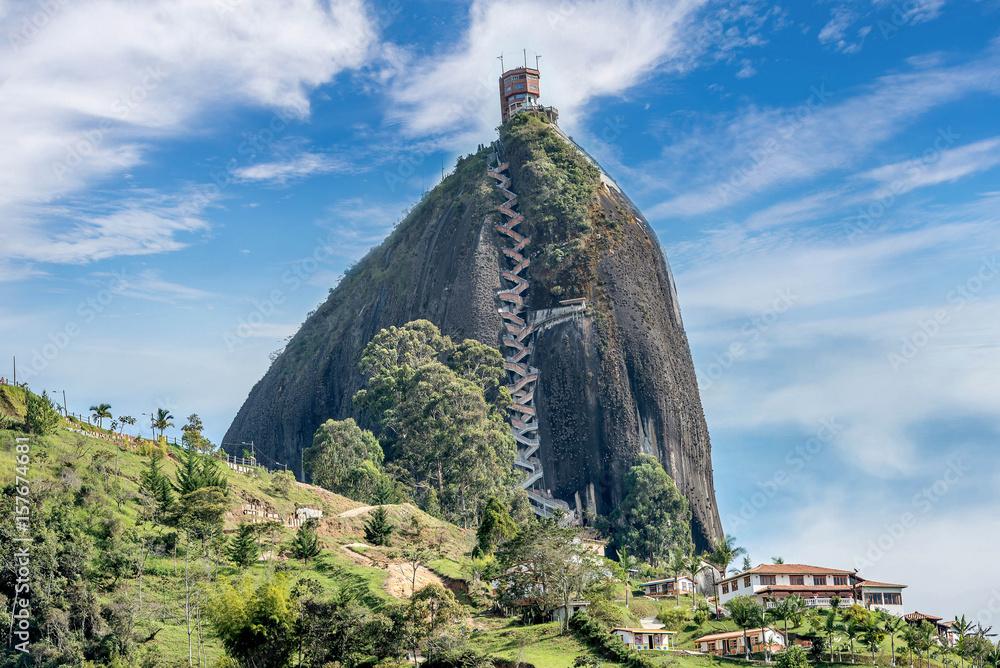 Fotografía Rock Of Guatape Piedra De Penol Colombia