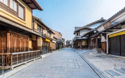 Foto op Plexiglas Kyoto 古都京都 東山の町並み