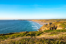 Perranporth Youth Hostel Is Sited On Droskyn Point, With A Great View Across Perran Sands.