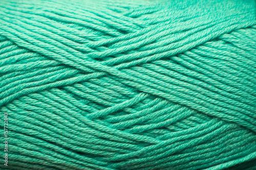 Tuinposter Schip wool yarn