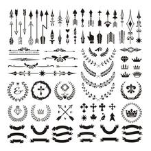 Set Of Decorative Design Eleme...
