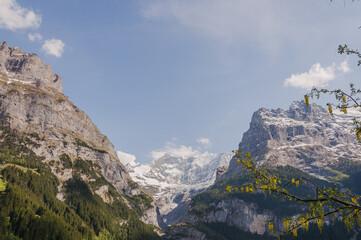 Grindelwald, Dorf, Eiger, Eigernordwand, Schreckhorn, Pfingstegg, Gletscher, Berner Oberland, Alpen, Schweizer Berge, Frühling, Sommer, Schweiz