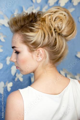 Photo sur Toile Salon de coiffure hairstyle studio shoot