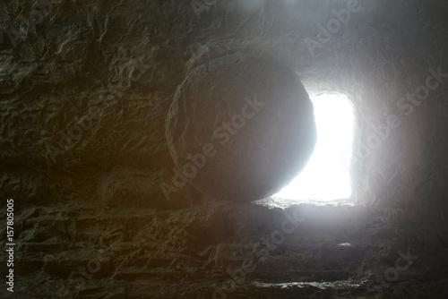 Obraz na plátně Jesus's Tomb