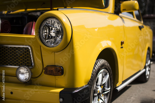 Tuning of a trabant Canvas Print