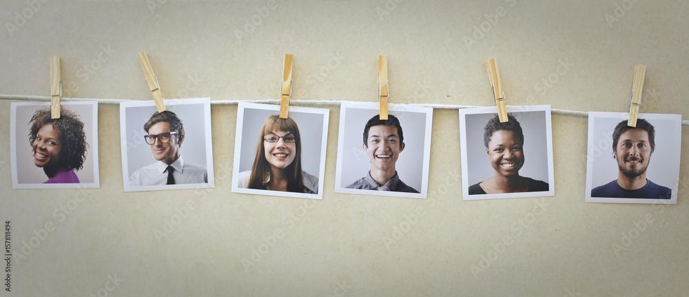 Fototapety, obrazy: Portraits