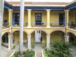 Courtyard of a colonial house of the old Havana, Cuba